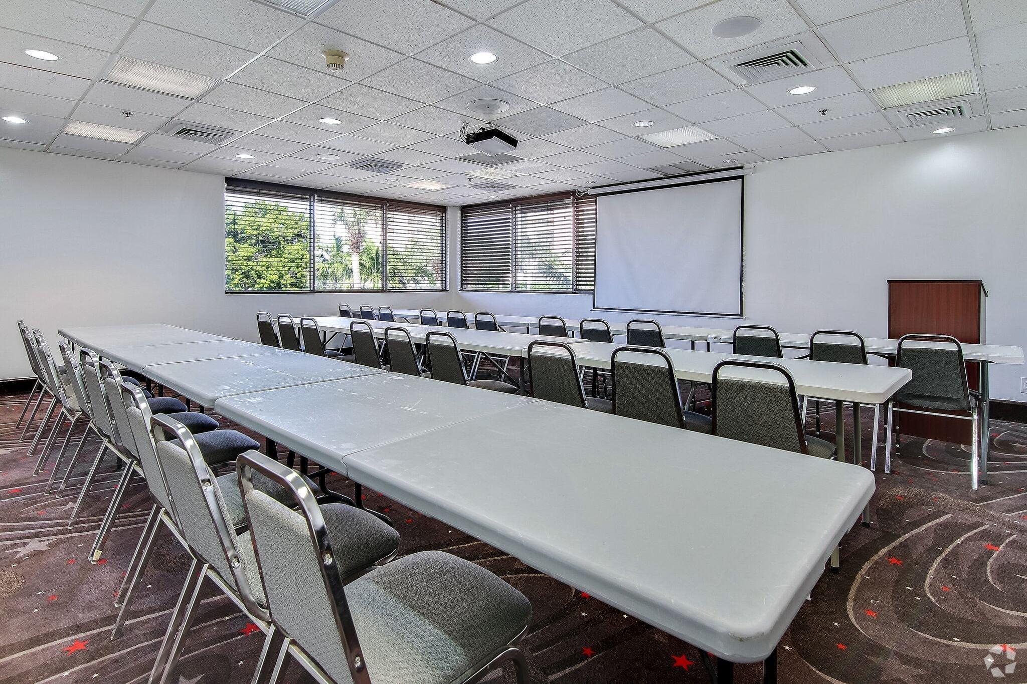 Large meeting room.